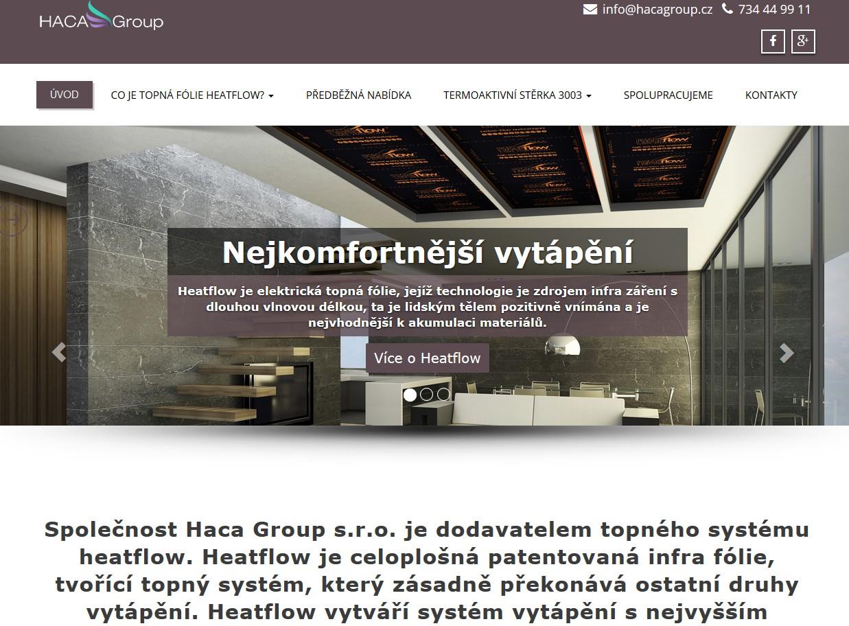 Haca Group web