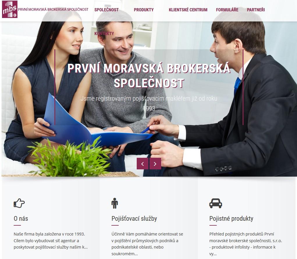 První moravská brokerská společnost