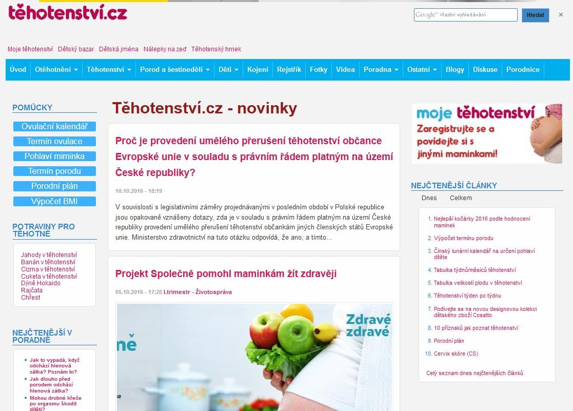 tehotenstvi.cz