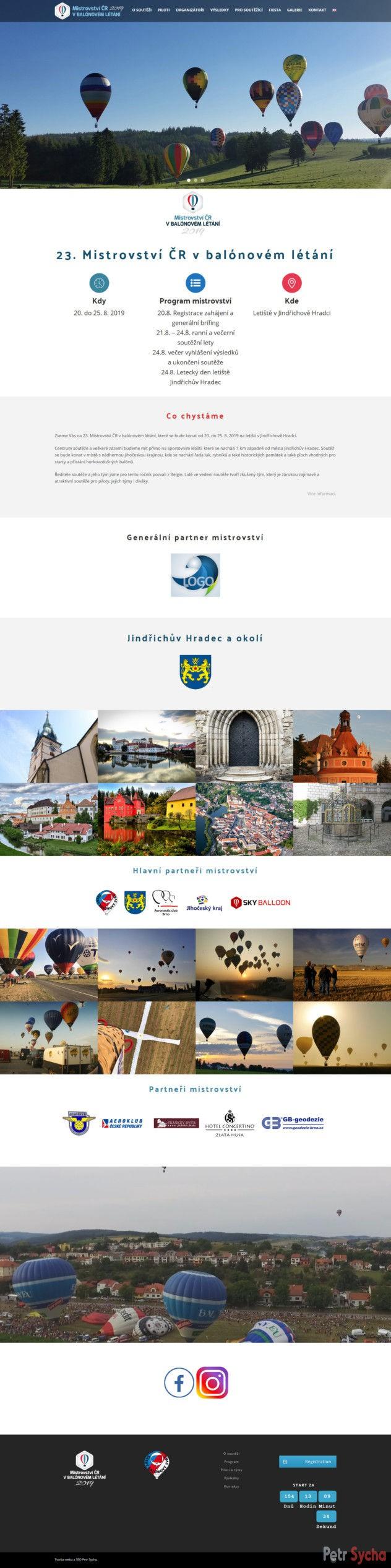 Mistrovství ČR v balónovém létání Balloon 2019