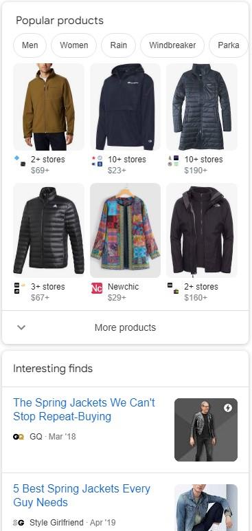 Google představil novou sekci ve výsledcích vyhledávání